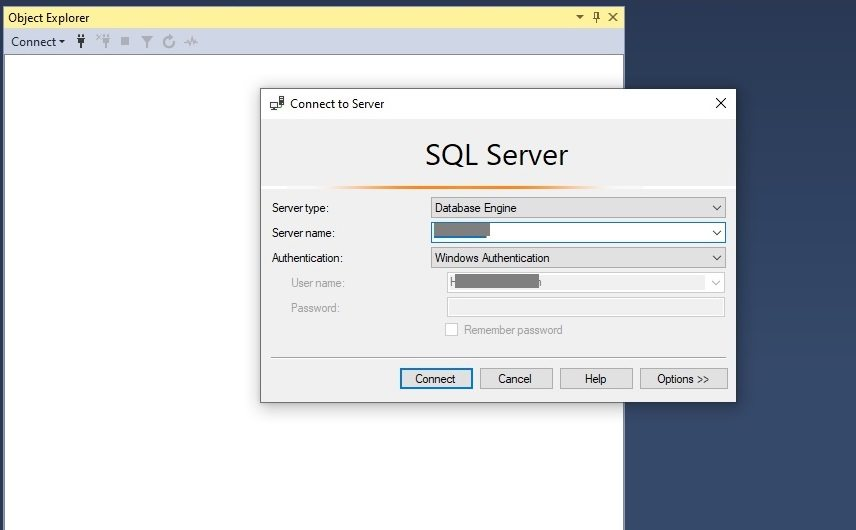 Enable SQL Server Authentication Step 1
