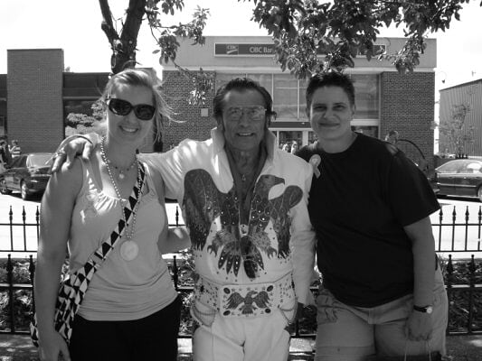 Us with Elvis
