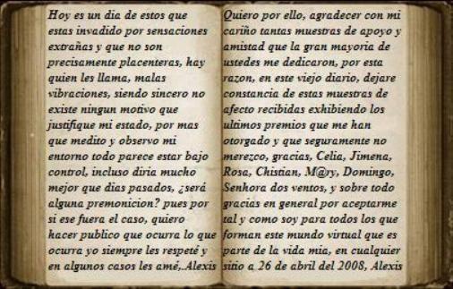 el viejo diario