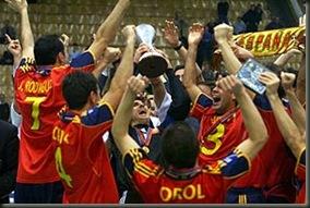 Campeones del mundo de futbol sala