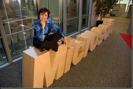 Rosa Maria Garcia, Consejera Delegada de Microsoft Ibérica